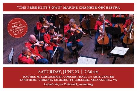 Marine Chamber Orchestra Concert June 23