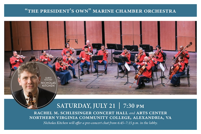 Marine Chamber Orchestra Concert July 21