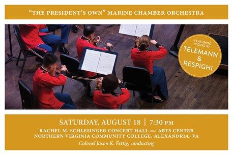 Marine Chamber Orchestra Concert Aug. 18