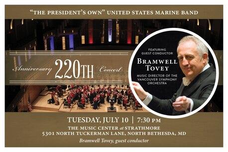 Marine Band Anniversary Concert July 10