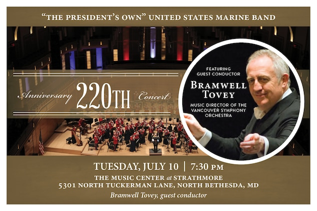 Marine Band Anniversary Concert July 10