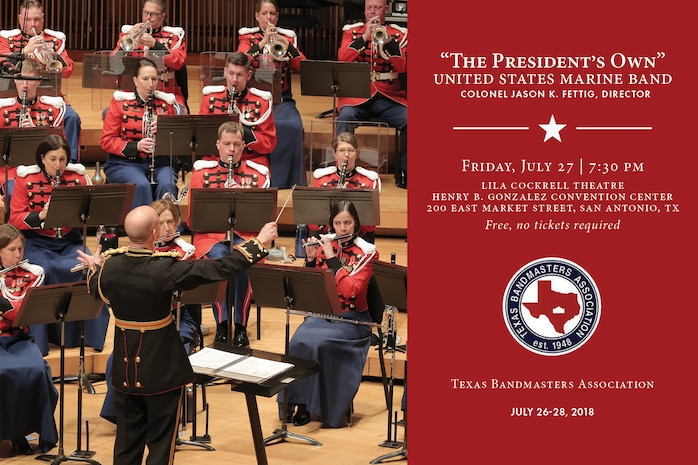 Marine Band Concert July 27