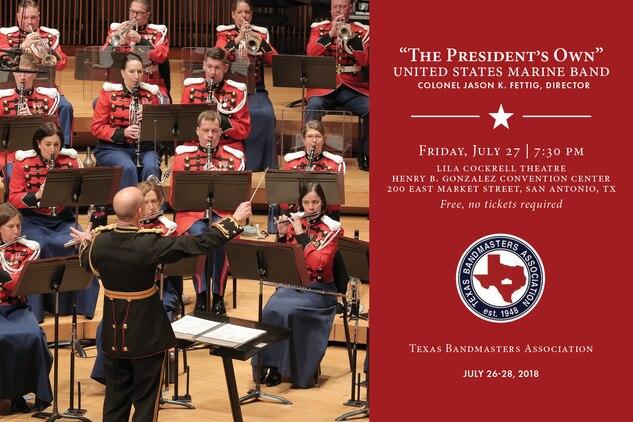 Marine Band Concert July 27