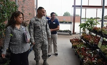 AAFES senior enlisted advisor visits Dyess