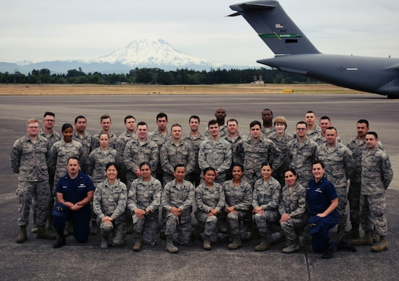 Congratulations to the service members who graduated from the Julius A. Kolb Airman Leadership School, June 14, 2018, at Joint Base Lewis-McChord, Wash. (U.S. Air Force courtesy photo)
