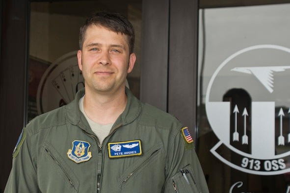 Maj. Pete Hughes, 913th Airlift Group, Combat Airlifter of the Week