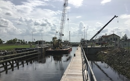 Ortona Lock reopens for navigation after completion of maintenance and repairs