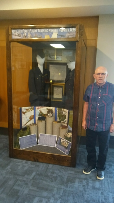 Son of World War II British flight cadet visits Maxwell