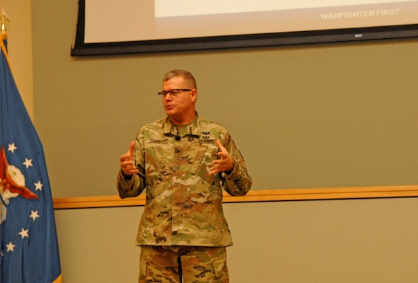 DLA Troop Support commander hosts town hall with DLA CIO