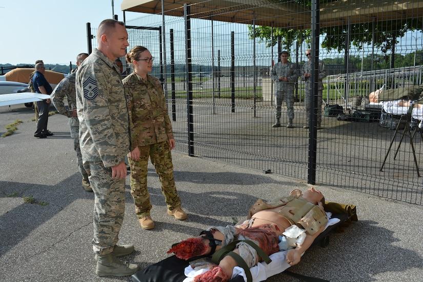 C-STARS visit highlights trauma training