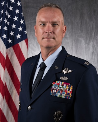 Col. Michael A. Miller, 2nd Bomb Wing commander, Barksdale Air Force Base, La.