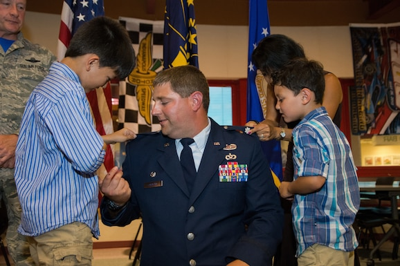 181st Civil Engineer Squadron commander promoted
