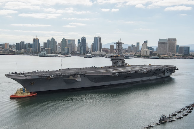 Carl Vinson Departs for RIMPAC 2018