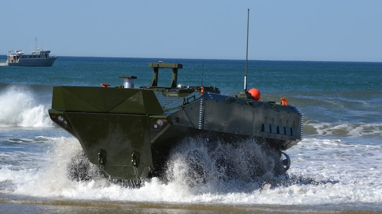 Marine Corps Systems Command awarded a contract to BAE Systems to produce and deliver the Amphibious Combat Vehicle. Following a successful Milestone C decision by the Assistant Secretary of the Navy for Research, Development, and Acquisition, the contract options worth $198 million will allow BAE Systems to build 30 low rate production vehicles, which will start delivering in the fall of next year.