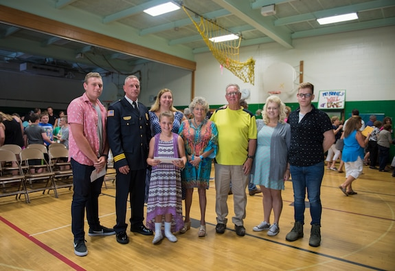 NFARS Assistant Fire Chief spreads message of kindness to elementary school students