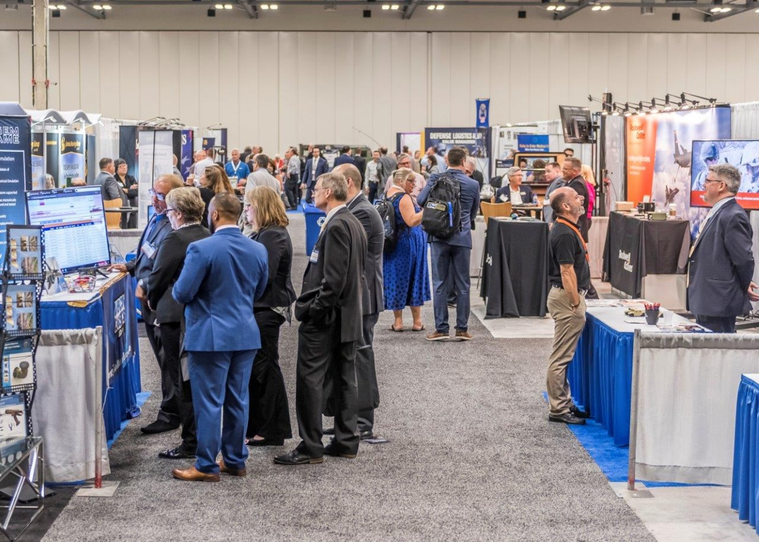 Representatives from more than 300 defense logistics industrial support organizations attended the 2018 DLA Land and Maritime Supplier Conference