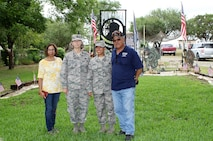 340th FTG major reenlists former teammate