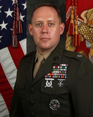 Lieutenant Colonel Josh Anderson 1st Marine Logistics Group Leaders
