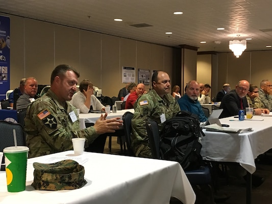 Members of Joint Task Force Civil Support participated in the Vista Crossing Tabletop Exercise and International CBRN Summit hosted by U.S. Northern Command and held at Peterson Air Force Base, Colorado June 12-13, 2018. The