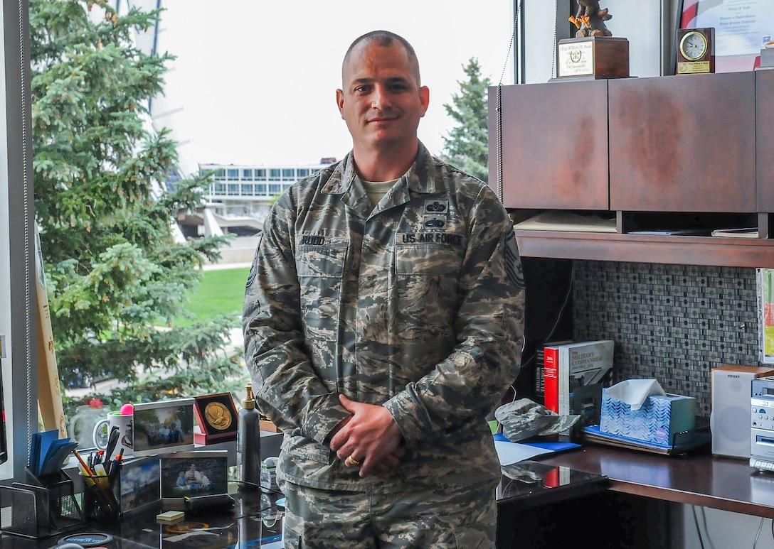 Senior NCO preps for OTS