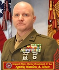 Sergeant Major Matthew A. Moore