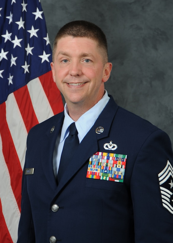 Official Photo, CMSgt Melby