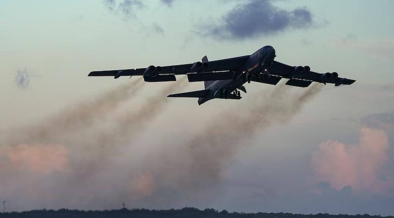B-52H Stratofortress bomber