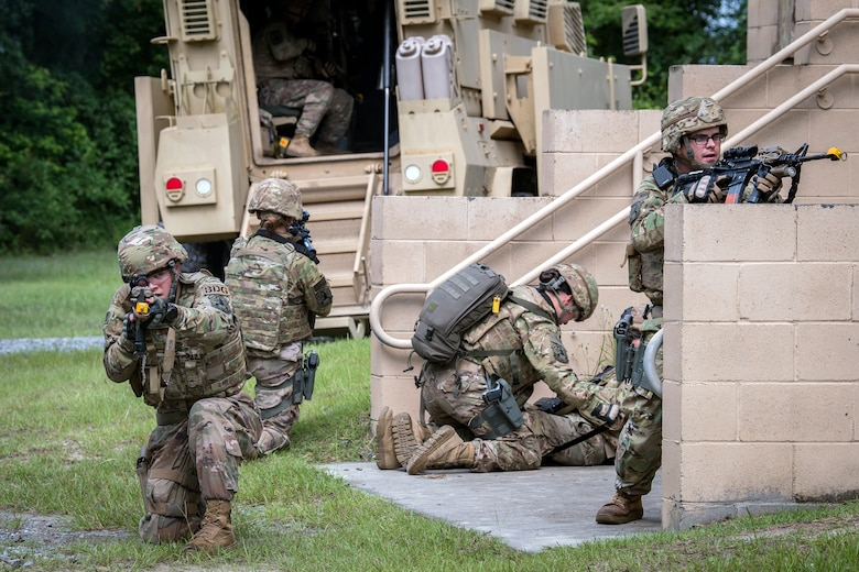 820th Base Defense Group demonstrate their capabilities