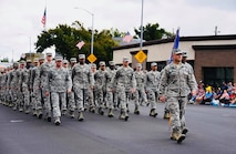 Team Travis Airmen were out in force to support the 61st Aniversary Feista Days Parade.