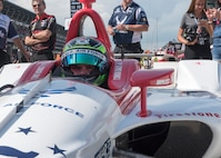 Department of Defense; DoD; Air Force; People; Aircraft; Air Power; USAF; United States Air Force; US Air Force Recruiting; Nellis AFB; Indianapolis Motor Speedway; Conor Daly; Thom Burns Racing; Indy 500
