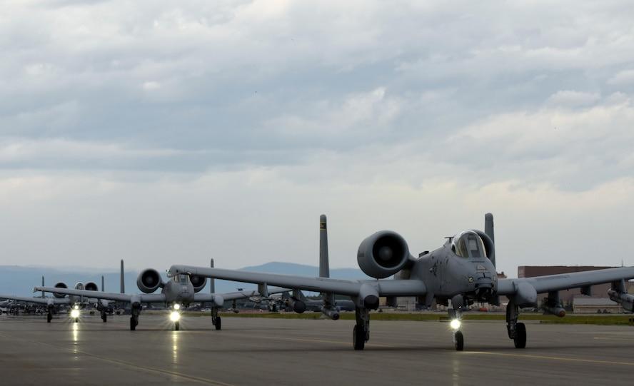 RF-A 18-2 continues at Eielson