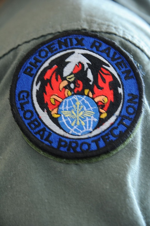 Photo of the official Air Force Raven Patch
