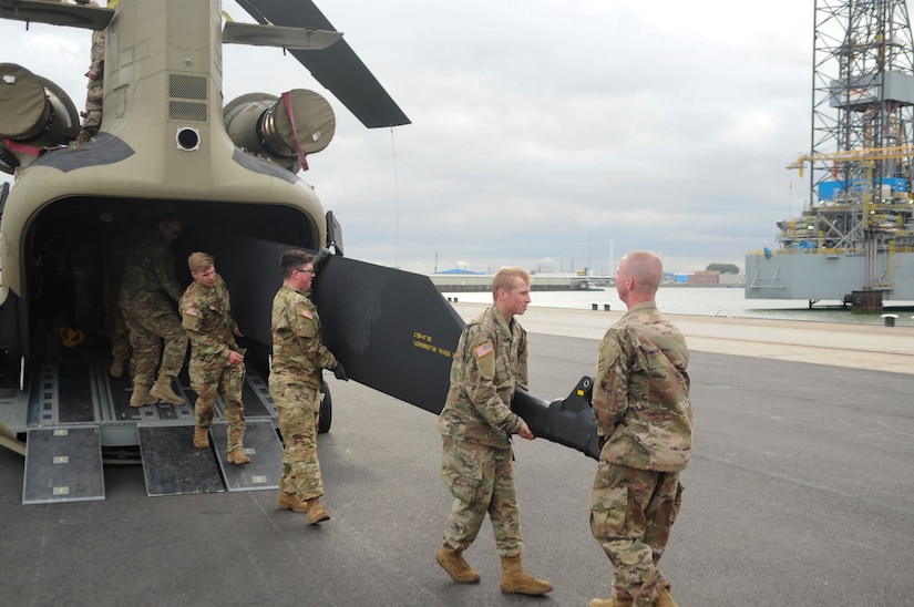 Third Atlantic Resolve U.S. Aviation Brigade Arrives in Europe