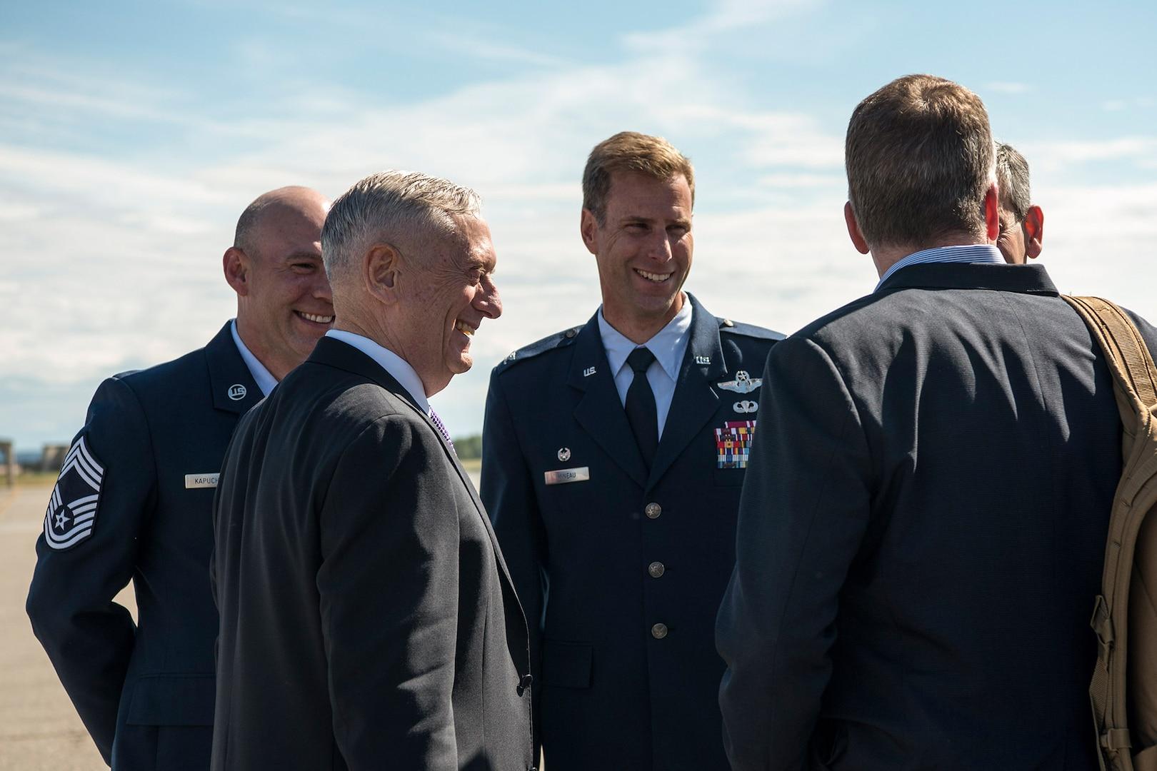 Secretary Mattis Travels to Indo-Pacific