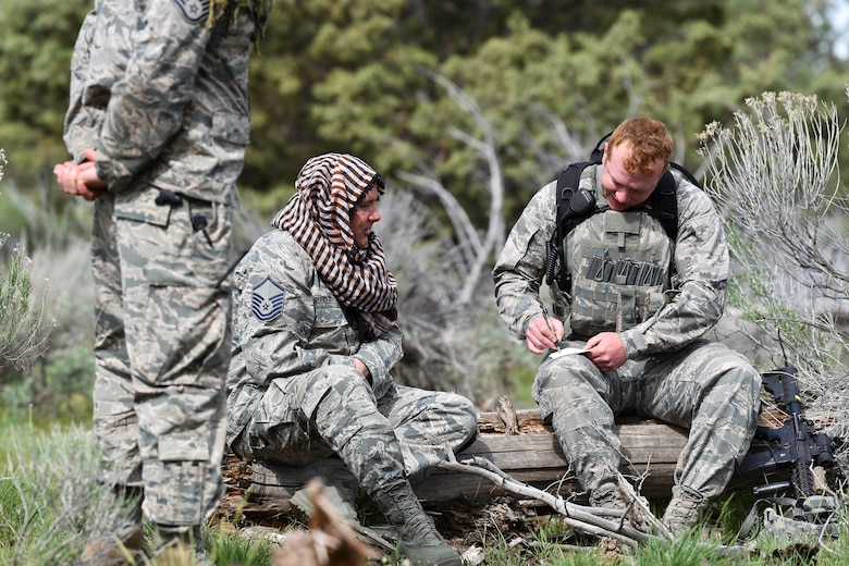 173RD SFS Trains for deployments