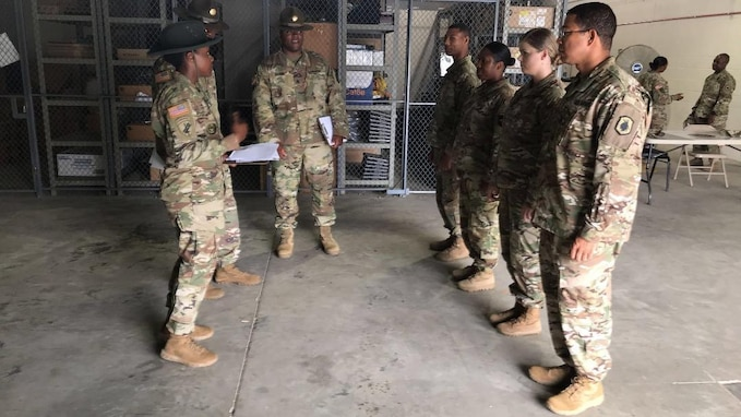 U.S. Army Reserve Soldiers: Always on the Trail