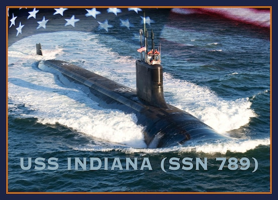 120621-N-ZZ999-003 WASHINGTON (June 21, 2012) An artist rendering of the Virginia-class submarine USS Indiana (SSN 789). (U.S. Navy photo illustration by Stan Bailey/Released)