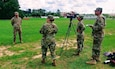 U.S. Army Reserve Soldiers with the 372nd Mobile Public Affairs Detachment out of Nashville, Tennessee interview a Soldier during the 2018 U.S. Army Reserve Command's Best Warrior Competition (SARC BWC) at Fort Bragg, North Carolina June 10-15. The 11-person team of public affairs Soldiers covered the USARC BWC not only to document the event but to fulfill their annual training requirements. (U.S. Army Reserve Courtesy photo/released)