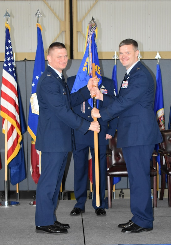 457th Airlift Squadron change of command.