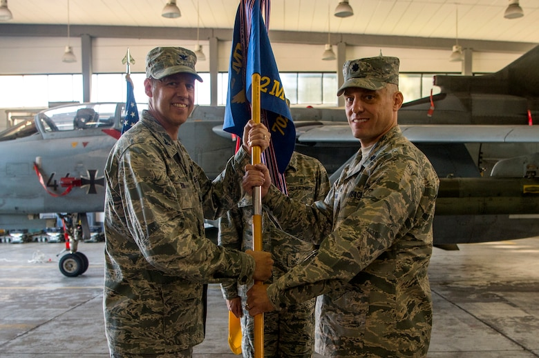702nd Munitions Support Squadron Change of Command