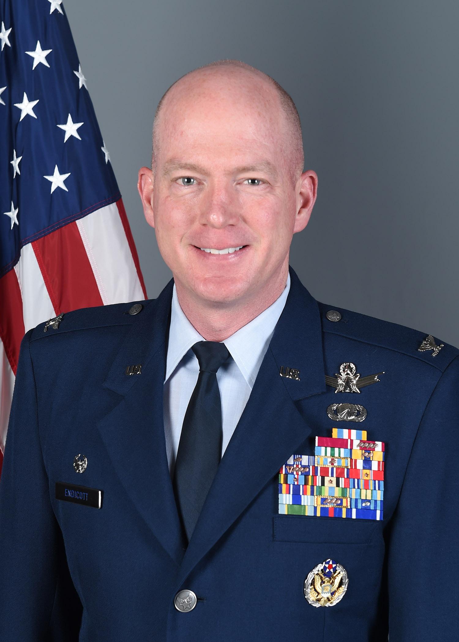 Col. Troy L. Endicott