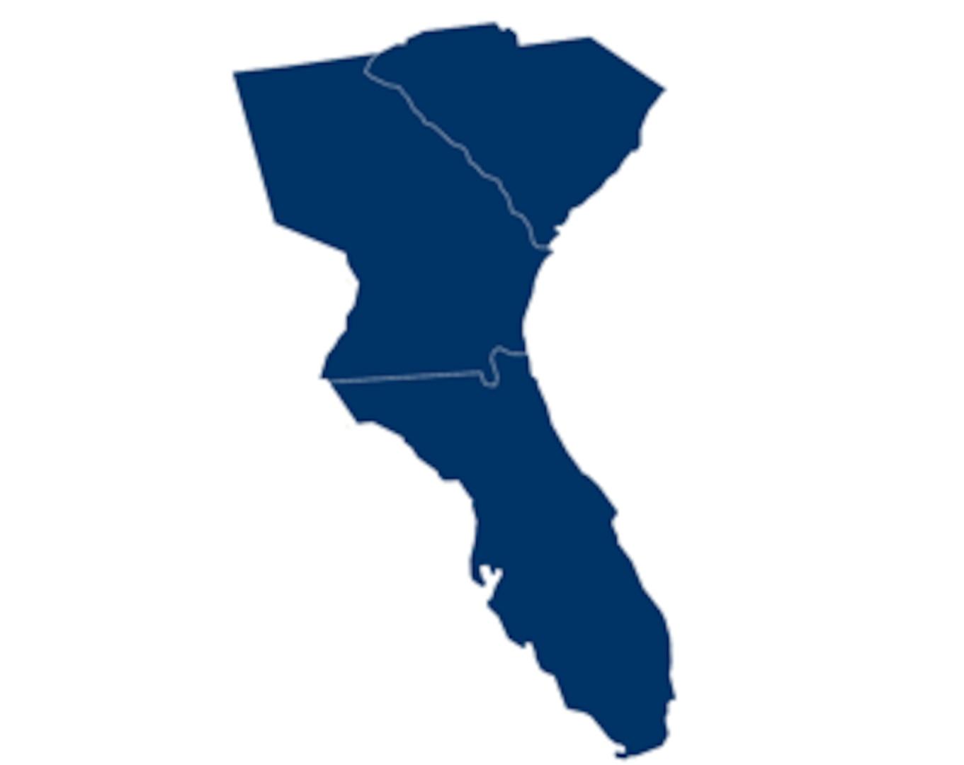 District 7: Florida, Georgia, Puerto Rico, South Carolina