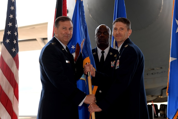 Col Bradley L. Spears assumes command of the 521st Air Maintenance Operations Wing.