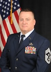 official photo of Chief Master Sergeant John G. Dubuc