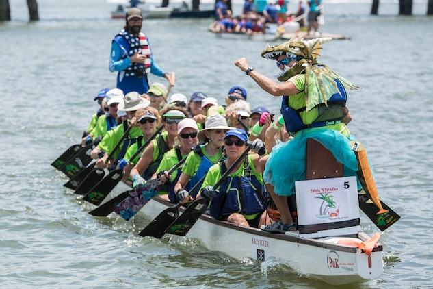 Marines make landing at DragonBoat Beaufort 2018