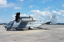 Marine Corps adds MV-22 Osprey to Networking On-the-Move family of systems