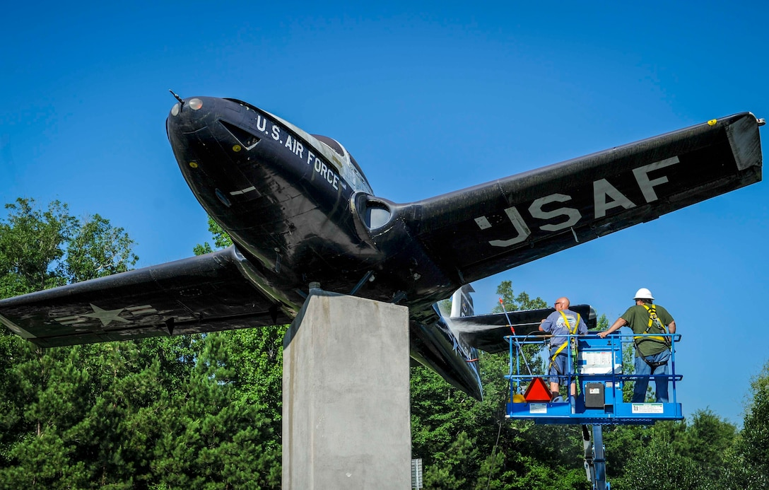 T-37 static display returns to 'good as new' look
