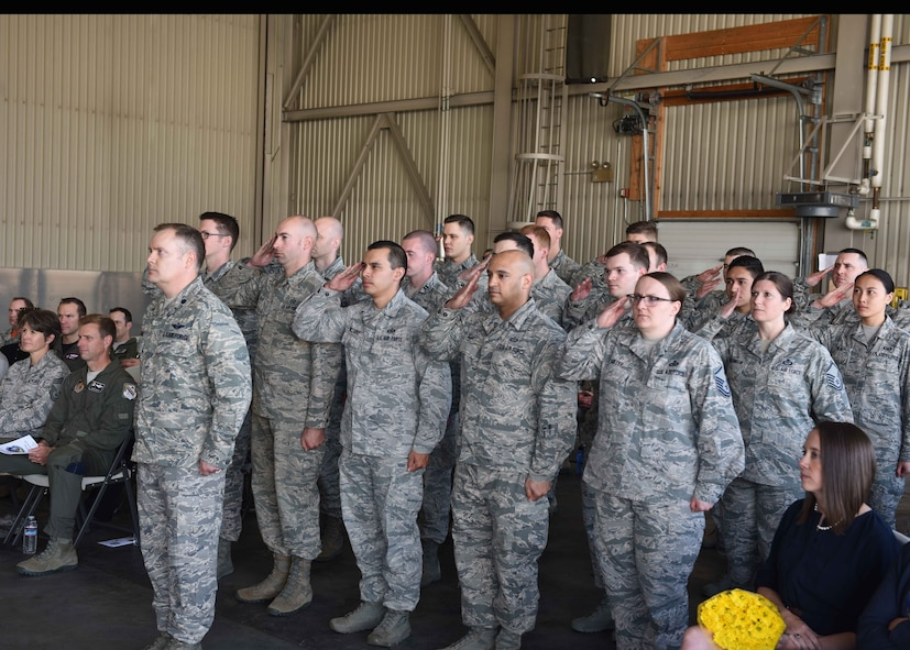 354th OSS Change of Command