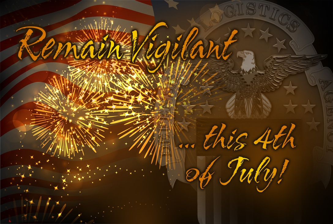 Keep your wits about you even as you direct your gaze upward this Fourth. Graphic by Paul Crank.