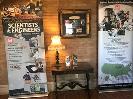 ERDC display debuts at visitor center